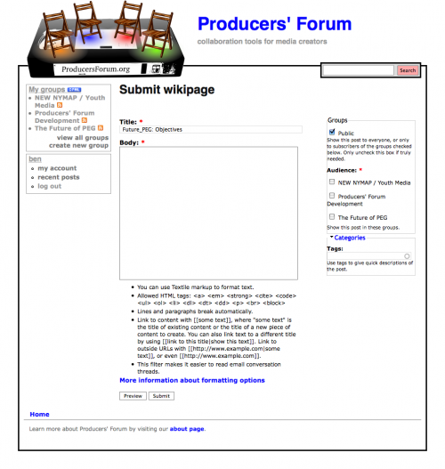 Submit wikipage - Producers' Forum_1243800483059