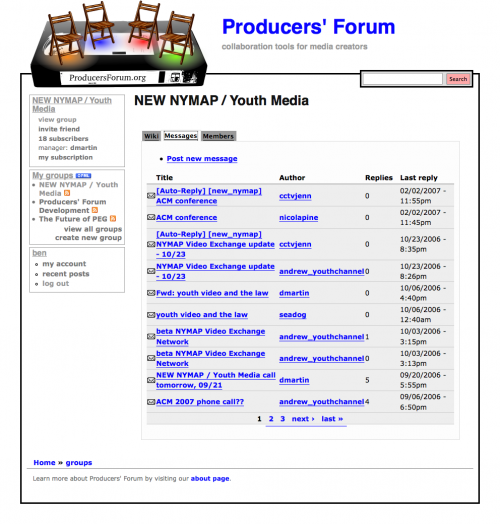 Youth Media - Producers' Forum_1243800433509